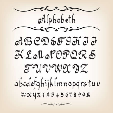 calligraphie arabe: L'alphabet calligraphique