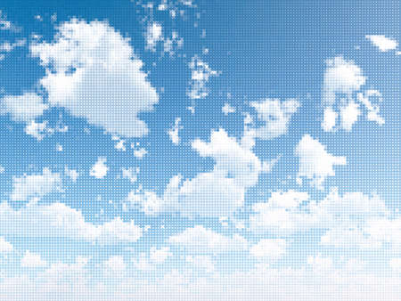 Sky and clouds Stock Vector - 11027715