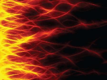 lángok: Tűz. Flames. Illusztráció