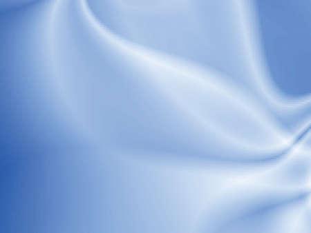 Résumé conception lumière sur fond bleu soyeux