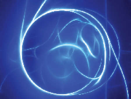 Blue energy. Swirl Stock Vector - 11086382