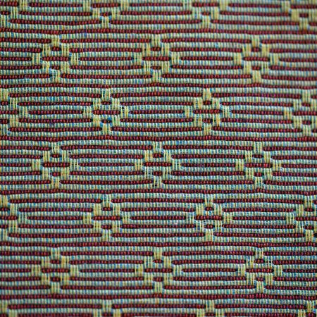 cotton weaving background with beautiful old pattern Stock Photo