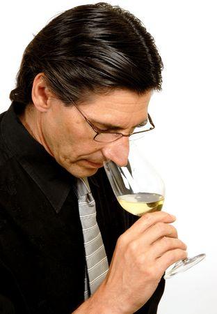 Man in Black Shirt Stock Photo
