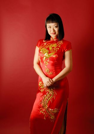 Chinese Bride Stock Photo - 1298378