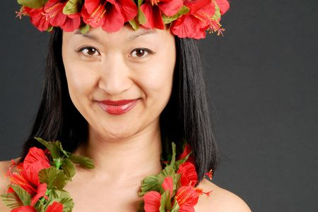Hawaiian Girl Stock Photo - 1298423