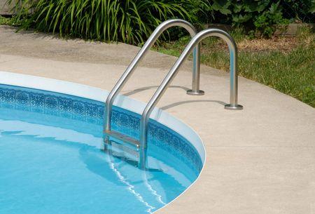 splash pool: Swimming Pool Stock Photo