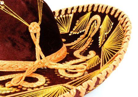 southern european descent: Sombrero Stock Photo
