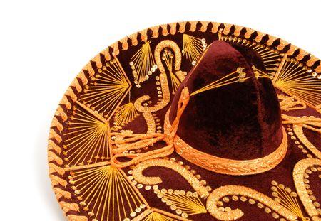mexican ethnicity: Sombrero Stock Photo