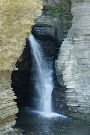 seneca: Watkins Glen State Park Stock Photo