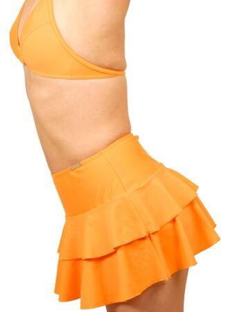 Orange Bikini Stock fotó