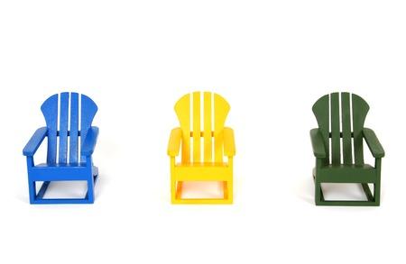 reclining chair: Muskoka Chairs