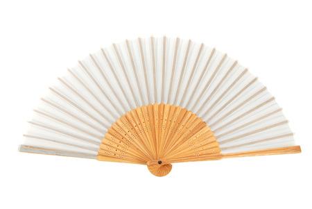 Gray Chinese Fan Stock Photo