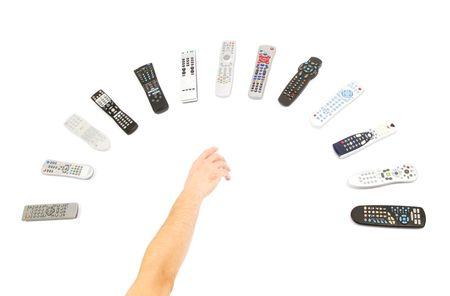 remote controls: Remote Controls Stock Photo