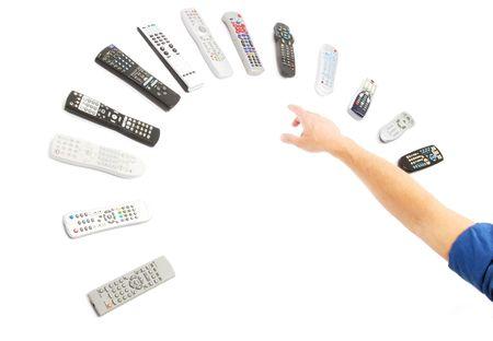 Remote Controls Reklamní fotografie
