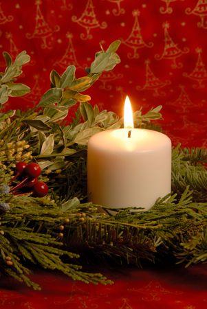 Christmas Candle Stock Photo - 2115071