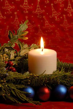 Christmas Candle Stock Photo - 2115069