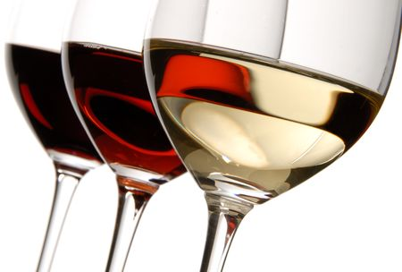 Three Colors of Wine Stock Photo - 2207940