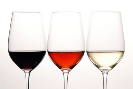 Three Colors of Wine Stock Photo - 2207935