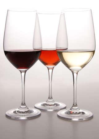 Three Colors of Wine Stock Photo - 2207939