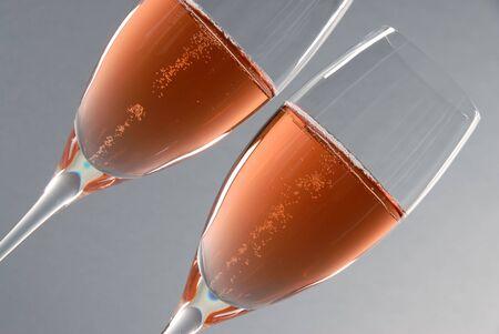 Pink Champagne Фото со стока