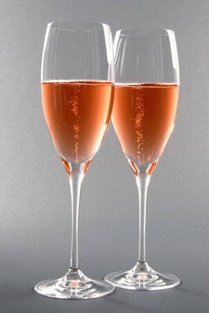 Pink Champagne Banco de Imagens