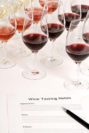 pink wine: Wine Tasting