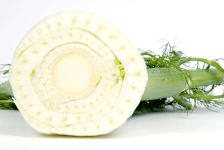 Cross Section of a Fresh Fennel
