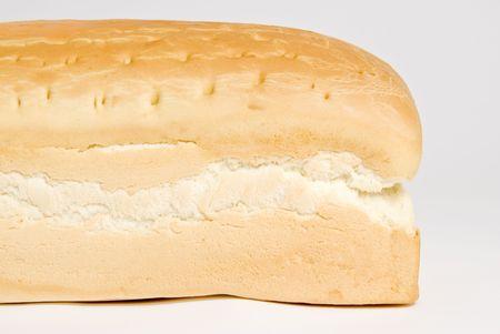 Loaf of Dense White Bread