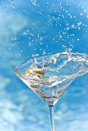 martini splash: Martini Splash