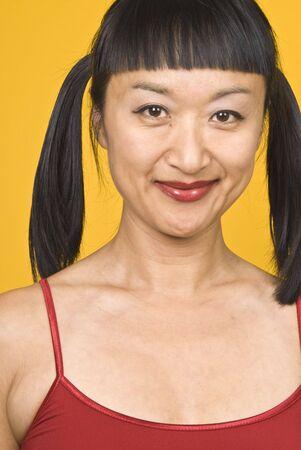 Asia Mujer  Foto de archivo - 3453455
