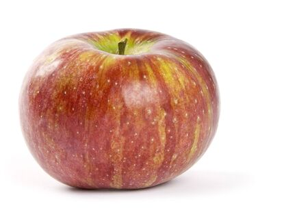 Cortland Apple Geïsoleerd op wit Stockfoto - 3657016