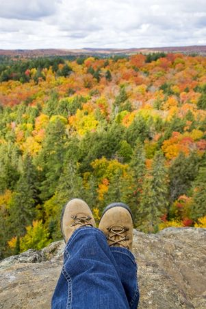 overlook: Fall Colors
