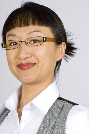 Asian Business Woman Stock Photo - 3829383