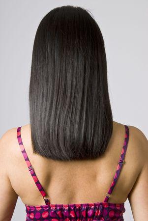 shiny black: Straight Shiny Black Hair