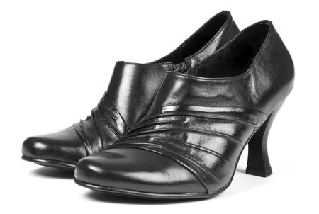 dressy: Womens Dressy Black Leather Shoes