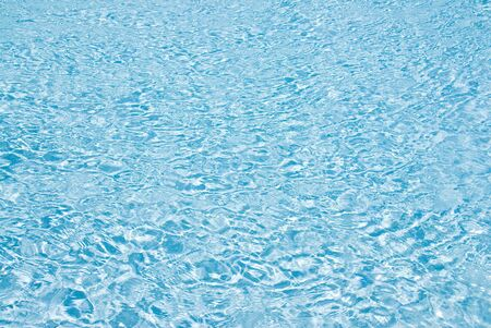 Sparkling Water of a Swimming Pool