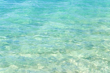 Caribbean Sea Water Closeup
