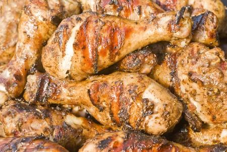 Barbecued Jerk Chicken photo