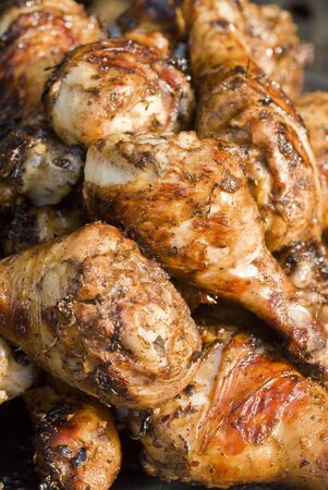 barbecued: Barbecued Jerk Chicken