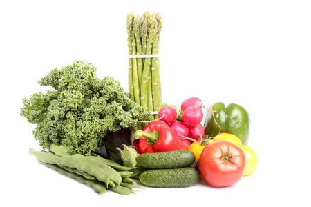 Bunch of Fresh Vegetables photo
