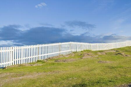 cerca blanca: Blanco cerca de Cape Spear
