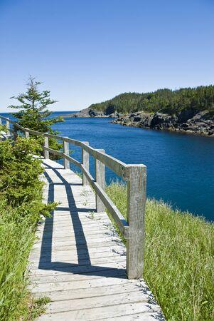 manche: Boardwalk  in La Manche Provincial Park