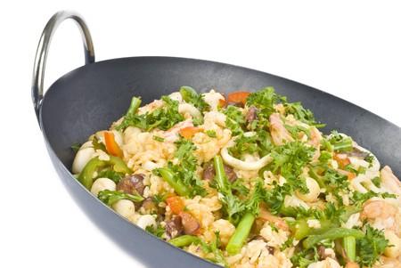 Seafood Paella Stock Photo - 7439192