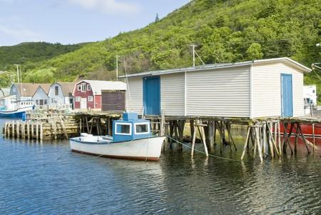 fishing village: Petty Harbour Fishing VIllage