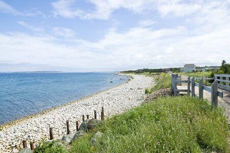 Gravel Beach Reklamní fotografie