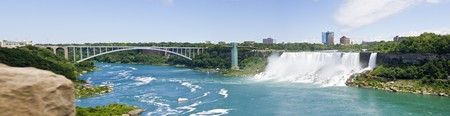 Niagara Falls USA Panorama photo