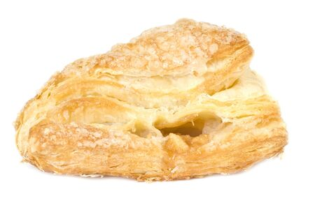 turnover: Apple Turnover Isolated on White