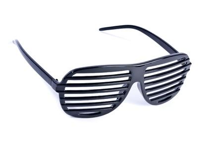 Funky Black Sunglasses Stok Fotoğraf