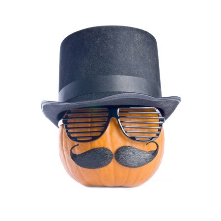 Halloween Pumpkin in Disguise Stock Photo - 7879877
