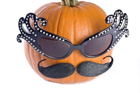 Halloween Pumpkin in Disguise